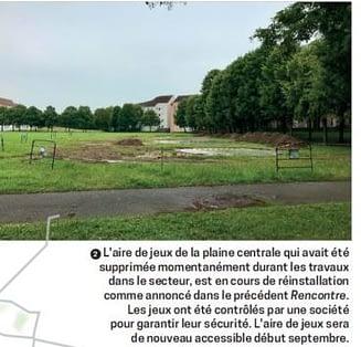 """P.12 Journal """"Rencontre"""" septembre 2021"""