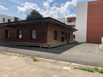 Bâtiment du service jeunesse, similaire à celui prévu pour le centre du Chêne
