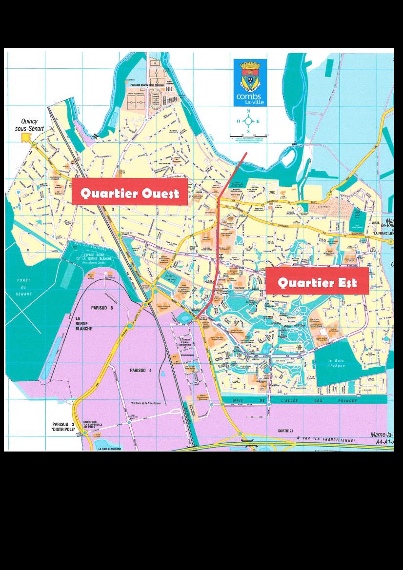 Cartographie des conseils de quartiers