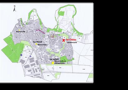 Cartographie des centres de loisirs