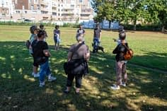 Rencontre parc central 11 septembre : échanges par petits groupes