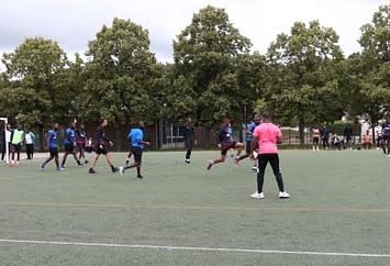 City stade Allende : les 19/23 ans en match